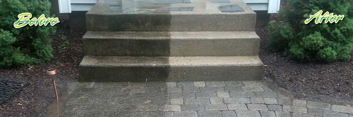 paver stone cleaning