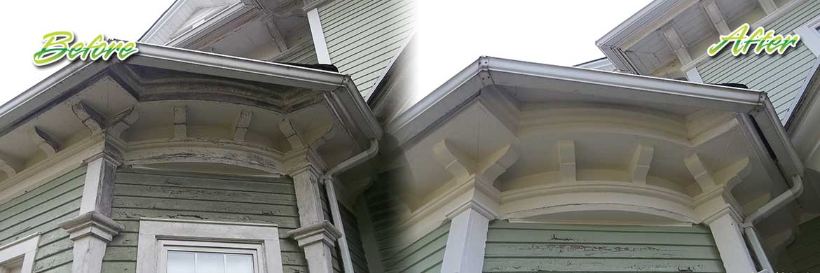 painted siding cleaning