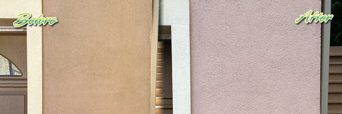 stucco siding cleaning